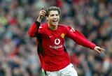 """A.Wengeras prisiminė """"Arsenal"""" bandymą įsigyti C.Ronaldo: """"Neišgalėjome sumokėti 12 mln."""""""