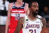 """J.R.Smithas ir D.Waitersas vedė """"Lakers"""" į pergalę"""