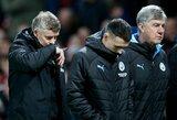 """""""Man Utd"""" pralaimėjimas prieš """"Man City"""" paženklintas antirekordu"""