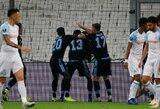 """Europos lyga: """"Lazio"""" iš Prancūzijos išsivežė svarbią pergalę"""