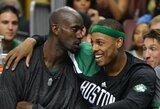 """""""Celtics"""" ateityje iškels K.Garnetto ir P.Pierce'o marškinėlius"""