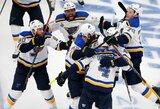 """Istorinė """"Blues"""" pergalė: pirmą kartą laimėjo Stenlio taurės finalo serijoje"""