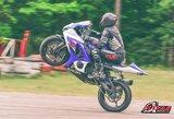 """""""Nemuno žiede"""" pasirodęs lietus sumaišė kortas motociklų čempionato lyderiams"""