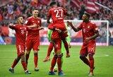 """Pergalę iškovojęs """"Bayern"""" dar labiau sustiprino lyderio poziciją """"Bundesliga"""" čempionate"""