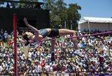 """""""Deimantinės lygos"""" etape JAV – sezono rekordas vyrų 100 m bėgime, įspūdingi šuolininkių į aukštį rezultatai ir kontroversiškosios C.Semenyos pergalė"""