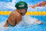 R.Meilutytė liko be medalio ir prarado pasaulio rekordininkės statusą