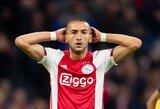"""H.Ziyechas išsiliejo: """"AZ labiau nusipelnė titulo nei """"Ajax""""? Tai mėšlas"""""""