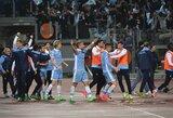 """Po įnirtingos derbio kovos M.Adamonis su """"Lazio"""" pasiekė Italijos taurės finalą"""