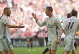 """C.Ronaldo prie """"Real"""" pergalės prisidėjo rezultatyviais perdavimais"""