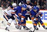 """Greitas C.McDavido įvartis pratęsimo metu padovanojo """"Oilers"""" pergalę prieš """"Islanders"""""""