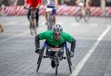 Žmonėms su negalia – lygiavertis dalyvavimas maratone