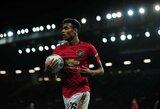 """""""Manchester United"""" toliau krečia netektys: traumą patyrė dar vienas žaidėjas"""