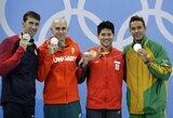 Neįtikėtinas finalas Rio de Žaneire – aplenktas M.Phelpsas ir trys sidabro medaliai