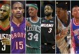 Geriausi NBA krepšininkai, niekada netapę sezono MVP