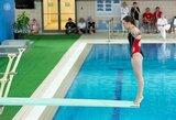 Pasaulio jaunimo šuolių į vandenį čempionate I.Girdauskaitė liko tarp autsaiderių