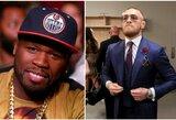 """Reperis """"50 Cent"""" vėl įsivėlė į žodžių karą su C.McGregoru"""