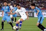 """Vėlyvą įvartį praleidęs """"Chelsea"""" draugiškose rungtynėse nusileido Japonijos klubui"""