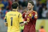 """I.Casillasas: """"Esame pajėgūs ir vėl triumfuoti Pasaulio čempionte"""""""
