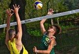 Lietuviai anksti baigė pasirodymus Europos jaunimo paplūdimio tinklinio čempionate