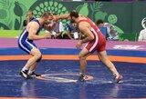 Imtynininkas M.Rumbutis Europos žaidynėse pralaimėjo kovą dėl vietos mažajame finale (komentaras)