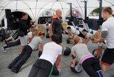 CrossFit treniruočių stovykla: vieniems apšilimas, kitiems - ekstremalus jėgų išbandymas