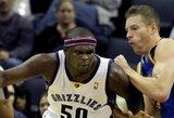"""""""Grizzlies"""" ketina išmainyti Z.Randolphą, realiausias pirkėjas – """"Lakers"""" klubas"""
