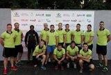 Lietuvos regbininkai pirmą kartą išbandė jėgas su pasaulio vicečempionais