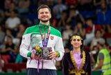 K.Navickui įteiktas Europos žaidynių bronzos medalis