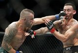 UFC turi naują čempioną: neįveikiamu organizacijoje išlikęs A.Volkanovski nukarūnavo M.Holloway