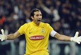"""G.Buffonas: """"Mes esame verti laimėti Italijos čempionatą"""""""