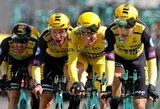 """Antrąjį """"Tour de France"""" etapą laimėjusi """"Jumbo-Visma"""" išsaugojo lyderio poziciją M.Teunissenui"""