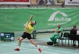 "K.Navickas pralaimėjo jau antrajame ""Yonex Lithuanian Open"" rate"