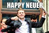 Futbolininkai sveikina su Naujaisiais metais