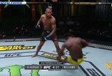 UFC turnyre – nokautas per 30 sekundžių, antra pergalė per 14 dienų ir ilgos dantų apsaugos paieškos