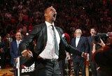 """""""Heat"""" iškėlė Ch.Bosho marškinėlius į arenos palubes"""