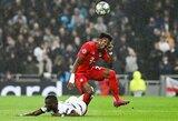 Smarkus nubrozdinimas Londone virto lūžusiais šonkauliais – D.Alabai teks pakentėti be futbolo