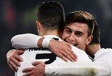 """P.Dybala paneigė brolio paskleistus gandus, jog nori palikti """"Juventus"""""""