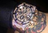 Pamatykite: įspūdinga C.McGregoro laikrodžių kolekcija
