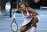 Daug apkalbų dėl aprangos sulaukusi S.Williams iškovojo antrąją pergalę