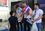 Kalnų Karabacho kare nužudytas daugkartinis Armėnijos jėgos trikovės čempionas