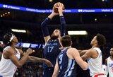 J.Valančiūnas prieš NBA favoritus sužaidė sezono rungtynes