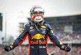 """Greičiausio pasaulio sustojimo rekordą pagerinusi """"Red Bull"""" nebejaučia nerimo dėl M.Verstappeno ateities"""