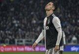 """M.Sarri apie darkart pakeistą C.Ronaldo: """"Susirūpinčiau, jeigu jis būtų dėl to patenkintas"""""""