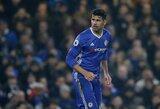 "D.Costa išliejo tulžį ant ""Chelsea"" klubo: ""Su manimi elgiamasi, kaip su nusikaltėliu"""