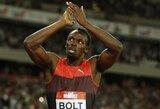 Sėkmingas sugrįžimas: traumą išsigydęs U.Boltas triumfavo Londone