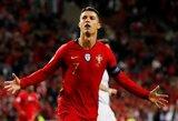 C.Ronaldo atvyksta į Lietuvą: Portugalija į Vilnių vešis visas žvaigždes