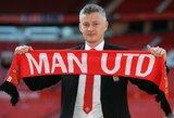 """""""Man United"""" strategas O.G.Solskjaeras iškovotų pergalių draugiškų rungtynių metu nesureikšmina: """"Taškų neiškovojome"""""""
