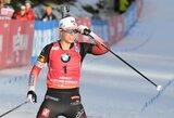 Pasaulio biatlono taurės etapas Prancūzijoje baigėsi T.Eckhoff pergale, D.Wierer tapo sezono lydere