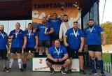 Tarptautinėse galiūnų varžybose Marijampolėje triumfavo svečiai iš užsienio