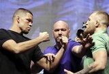 F.Mayweatherio komanda norėtų, kad C.McGregorą įveikęs N.Diazas kartu su jais eitų į kovą